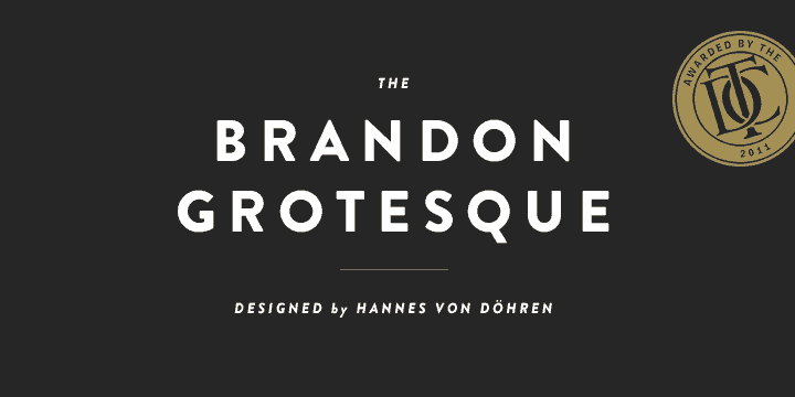 Download Brandon Grotesque font (typeface)