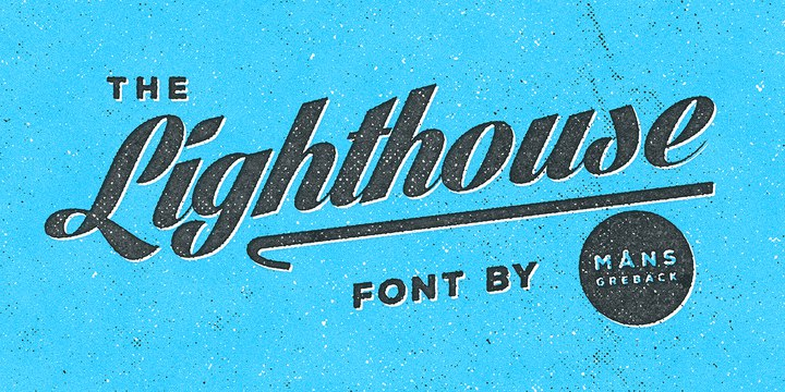 Download lighthouse font (typeface)