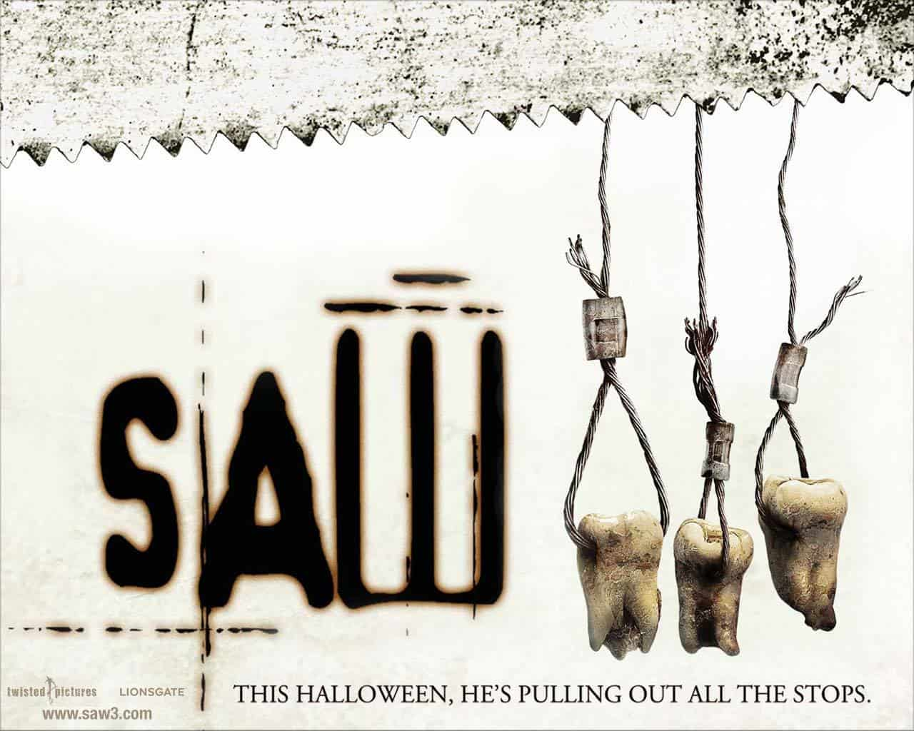 Download saw movie (s'AWesome) font (typeface)