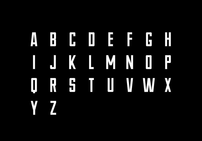 Download NOVUM Regular font (typeface)