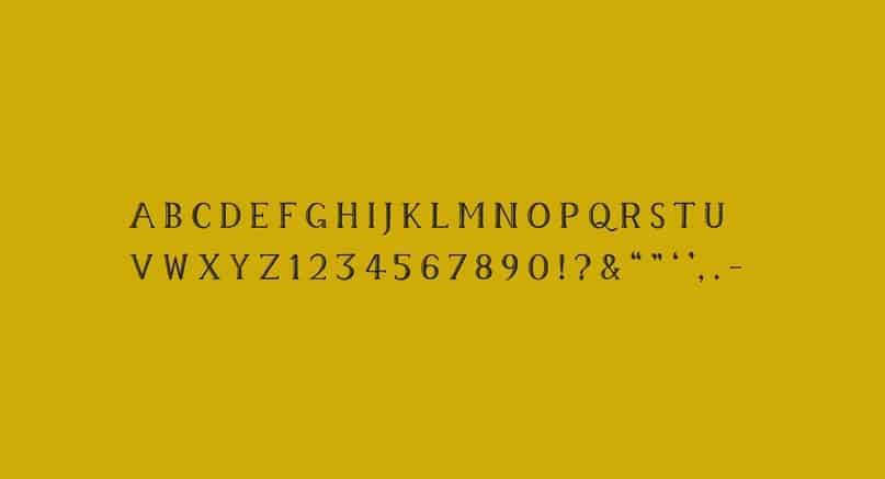 Download Memory Typeface font (typeface)