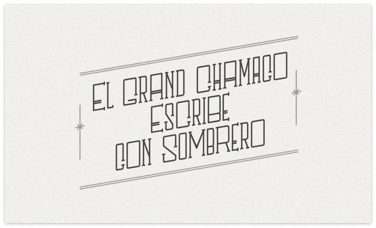 Download SOMBRERO font (typeface)