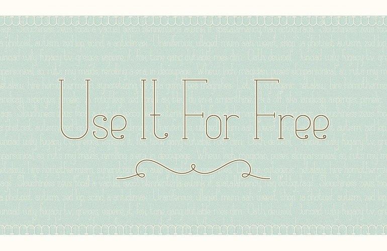 Download Matilde TDF font (typeface)