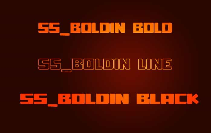 Download ss boldin font (typeface)