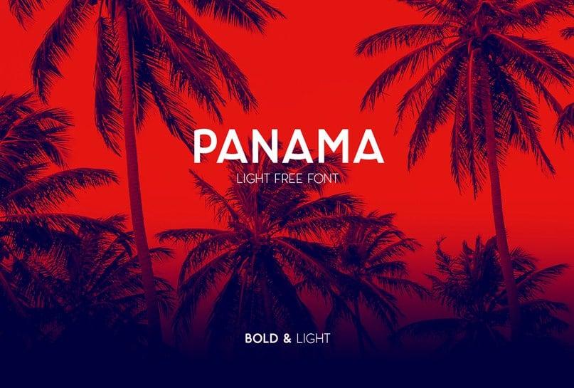 Download Panama Light font (typeface)