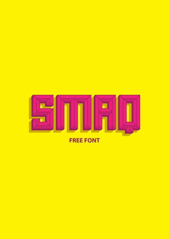 Download Alt smaq family font (typeface)