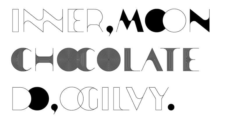 Download Zarif typeface font (typeface)