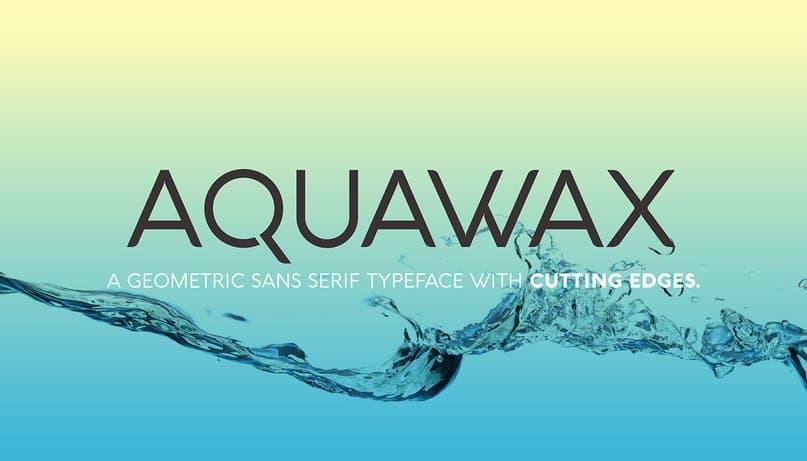 Download Aquawax font (typeface)