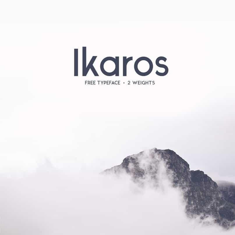 Download Ikaros Sans font (typeface)