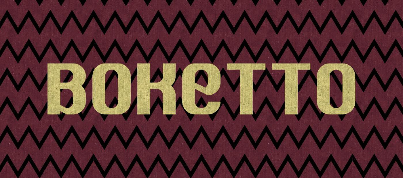 Download Boketto font (typeface)