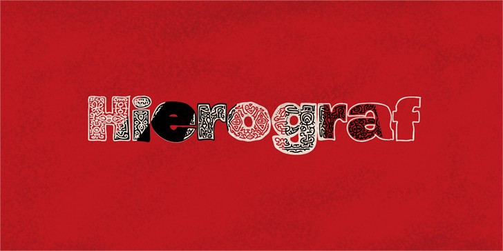 Download hierograf font (typeface)