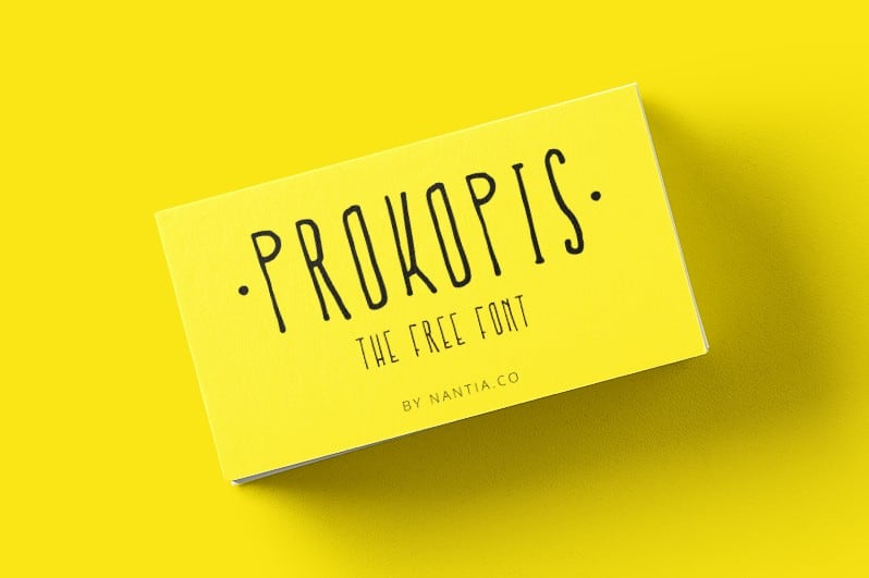 Download PRO-kopis Regular font (typeface)