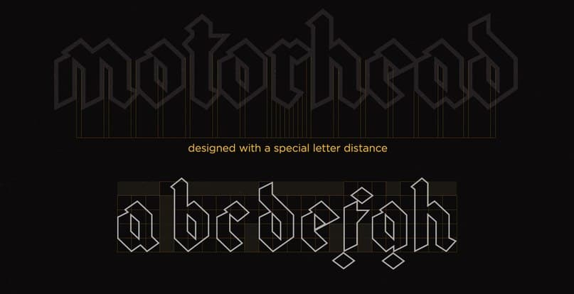 Download gothic modern font (typeface)