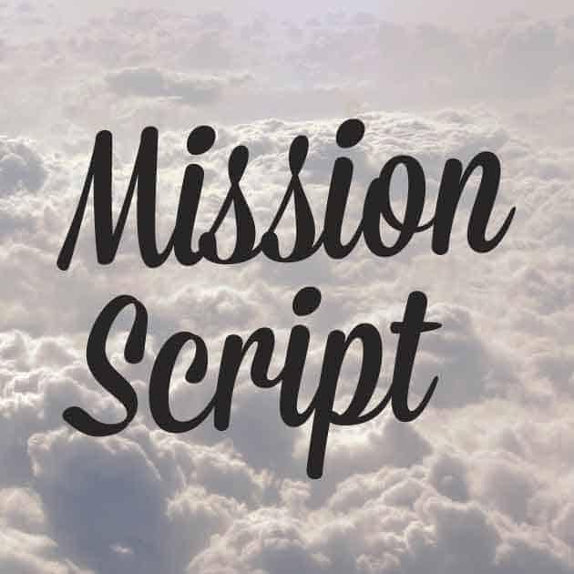 Download Mission Script font (typeface)