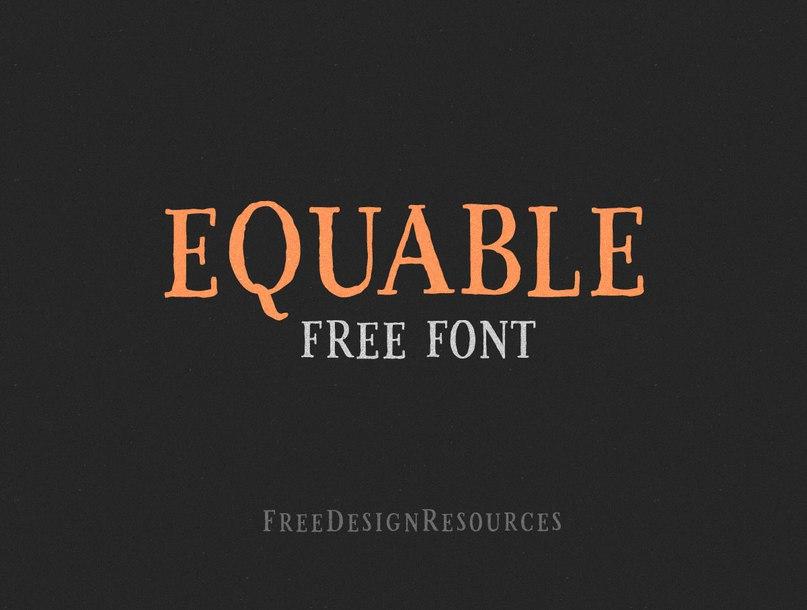 Download Equable font (typeface)