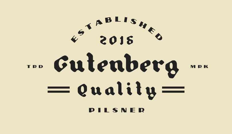 Font Gutenberg Blackletter Free Download