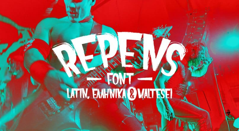 Download Repens Normal font (typeface)