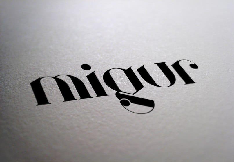 Download Migur font (typeface)