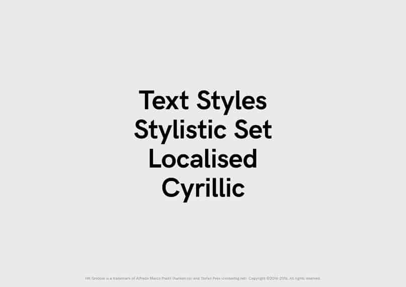 Download HK Grotesk font (typeface)