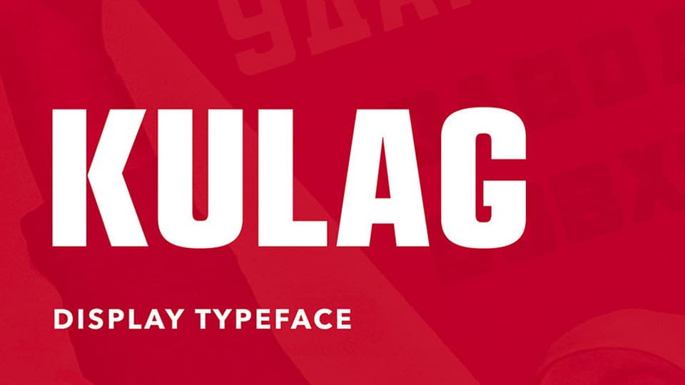 Download Kulag font (typeface)