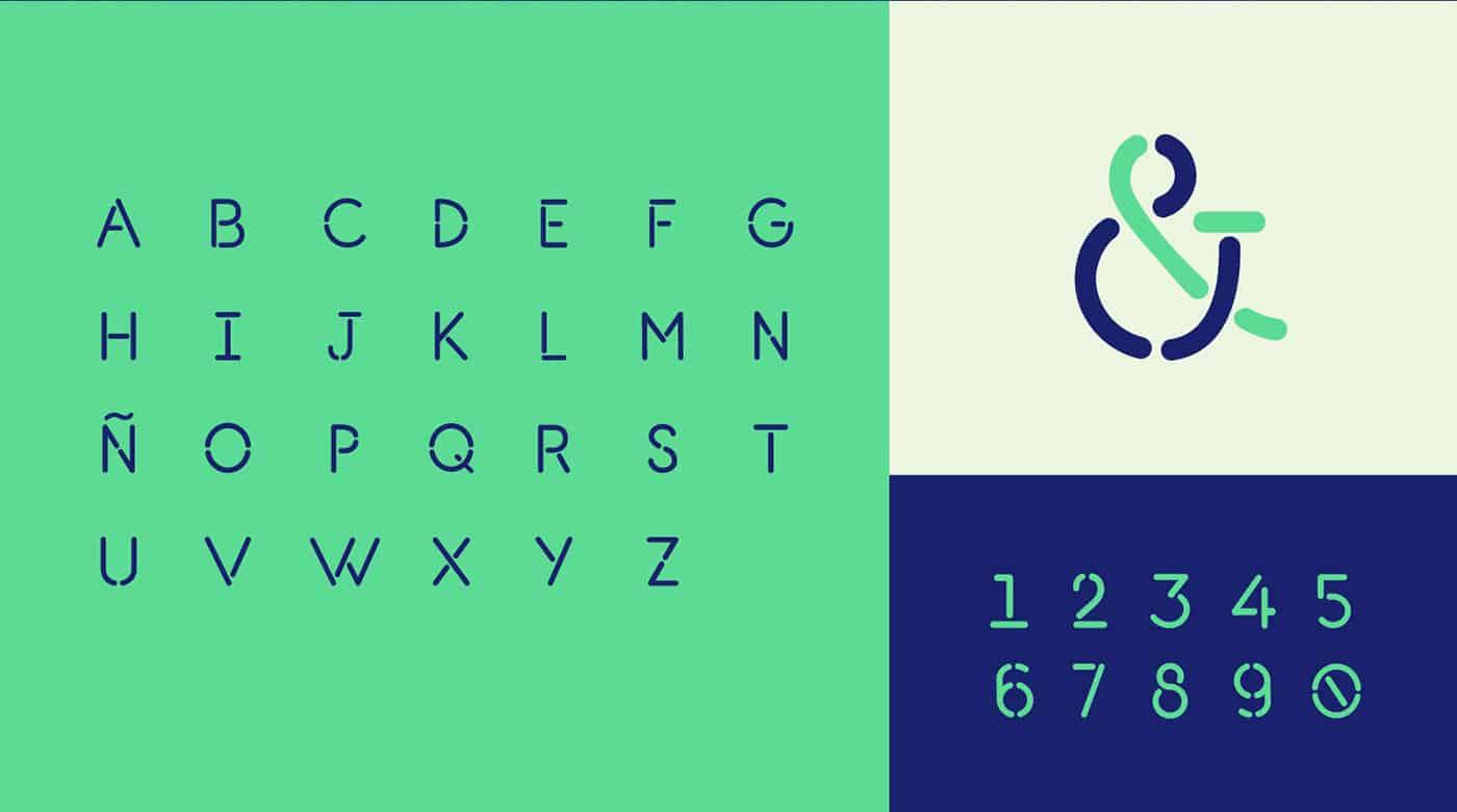 Download L-7 Stencil font (typeface)