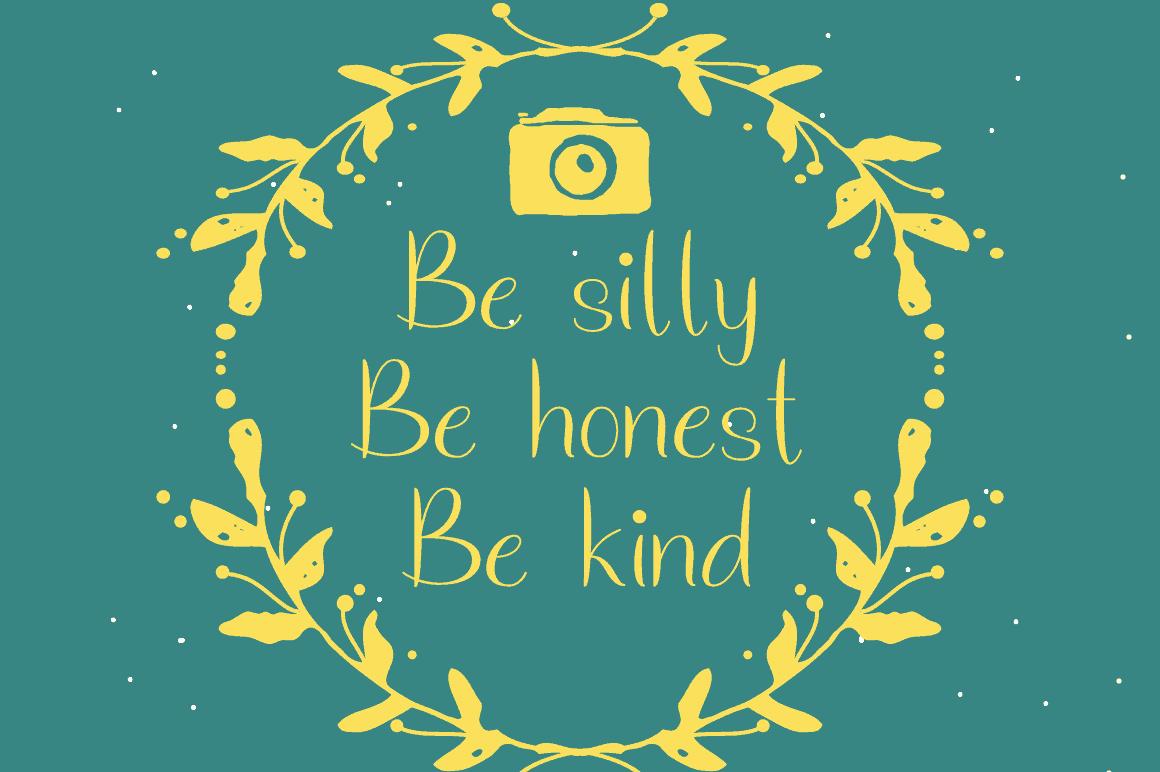 Download Just Smile font (typeface)