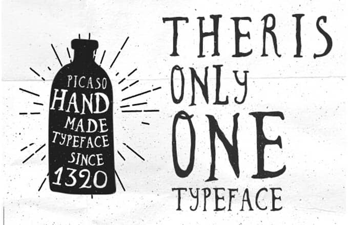 Download Picaso font (typeface)