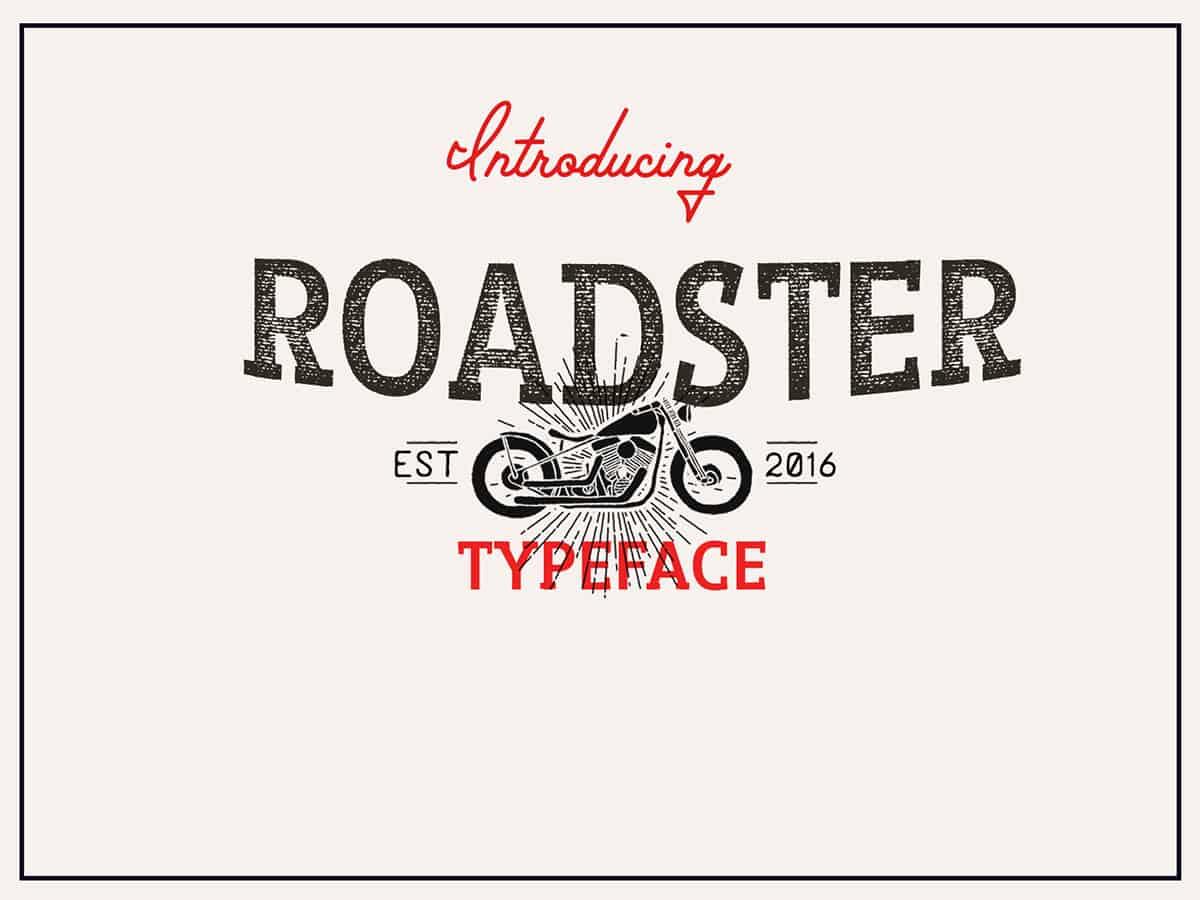 Download Roadster font (typeface)