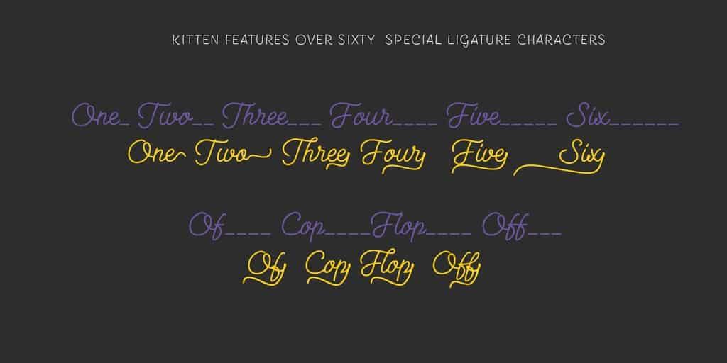 Download Kitten font (typeface)
