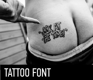 Download Top 5 fonts for tattoo font (typeface)