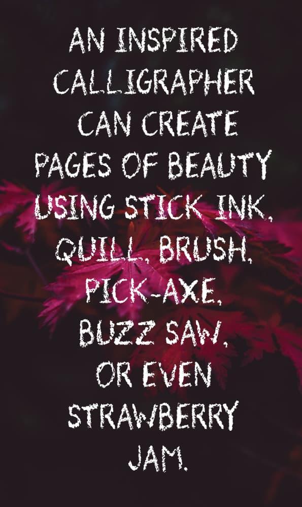 Download Tuck Shop PRO font (typeface)