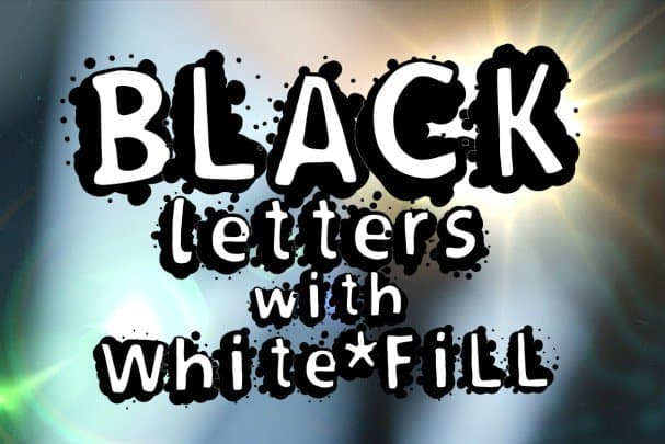 Download Splasher + White Fill version font (typeface)