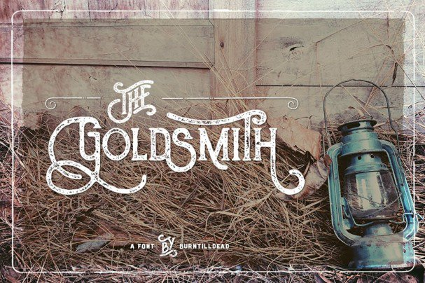 Download The Goldsmith font (typeface)