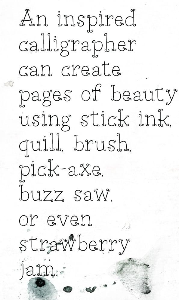 Download Petit Jardin PRO font (typeface)