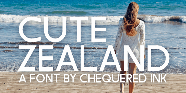 Download Cute Zealand font (typeface)