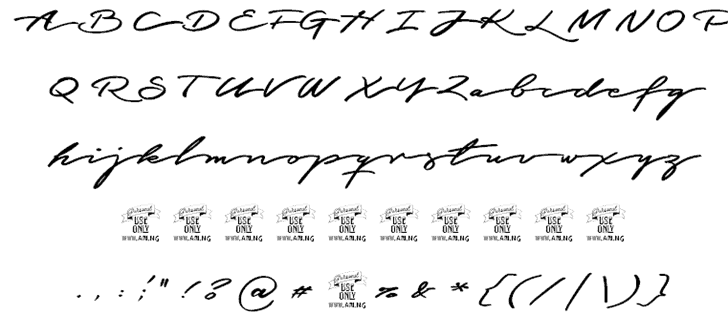 Download Graced Script font (typeface)