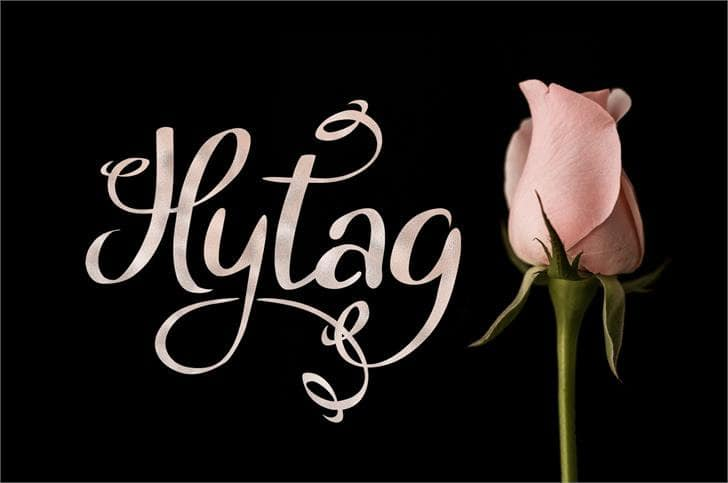 Download Hytag font (typeface)
