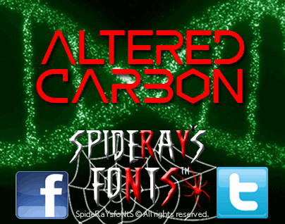 Download ALTERED CARBON font (typeface)