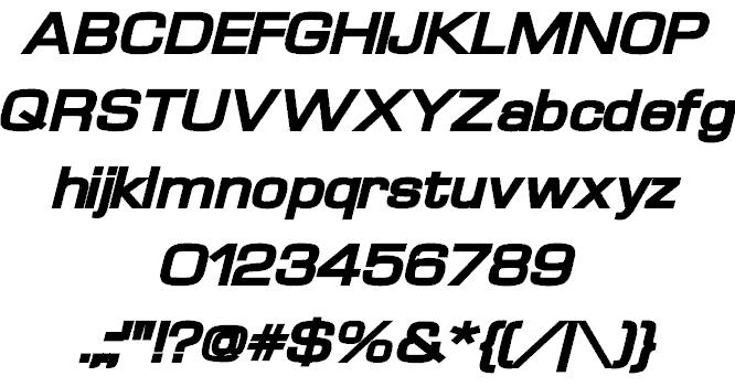 Download Waukegan LDO font (typeface)