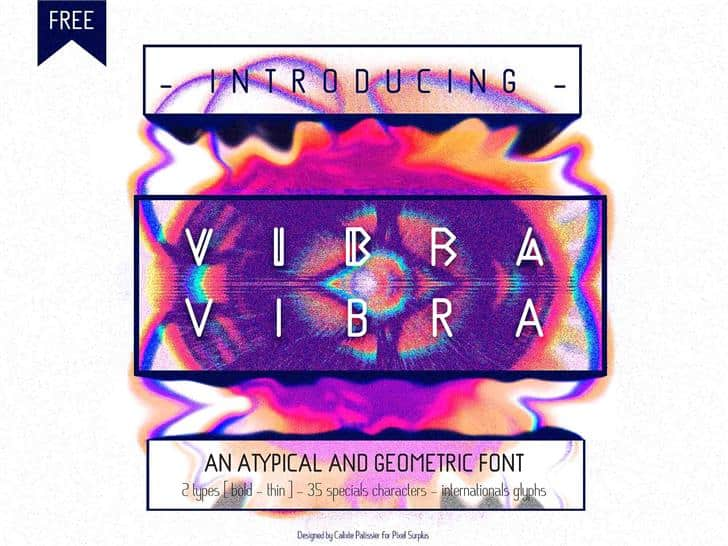 Download VIBRA font (typeface)