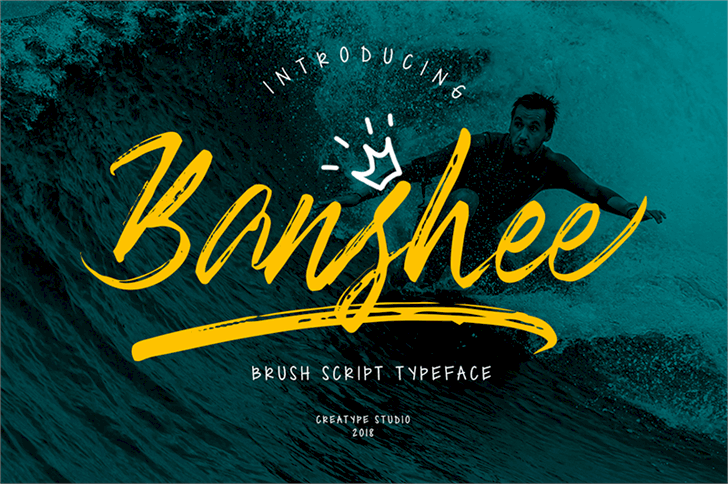 Banshee шрифт скачать бесплатно