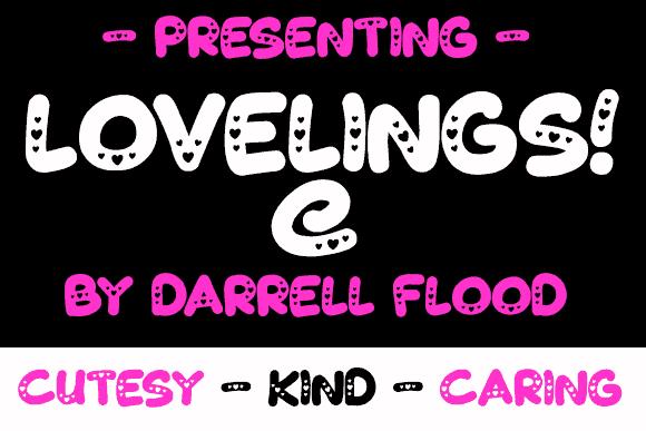 Download Lovelings font (typeface)