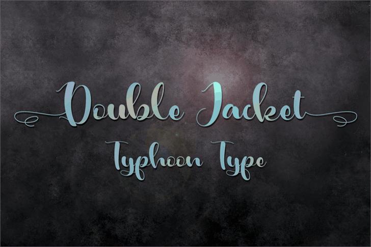 Download Double Jacket font (typeface)