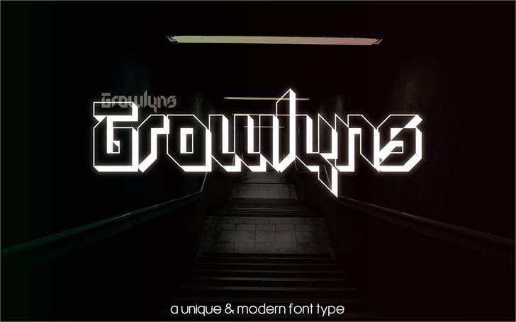 Download Growlyns font (typeface)