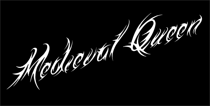 Download Medieval Queen font (typeface)