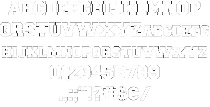 Download Collegiate font (typeface)