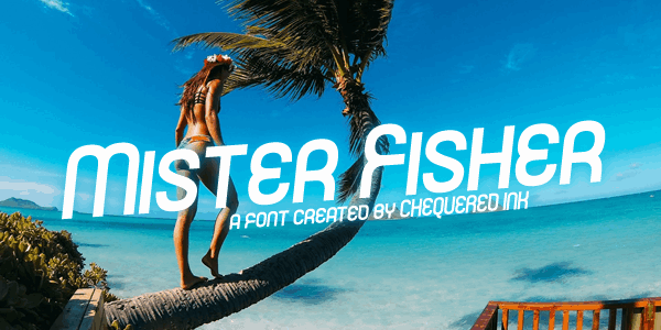 Download Mister Fisher font (typeface)