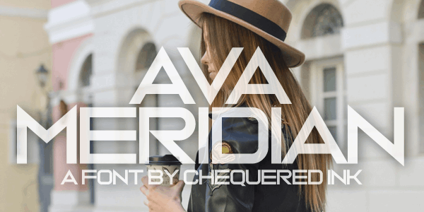 Download Ava Meridian font (typeface)