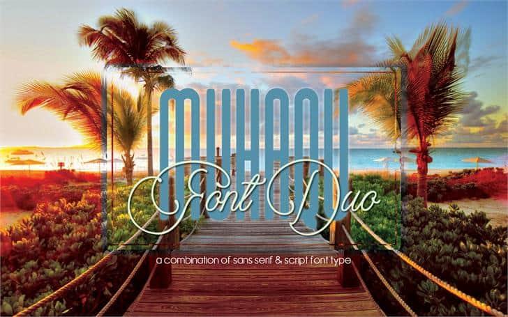 Download Muhaqu font (typeface)
