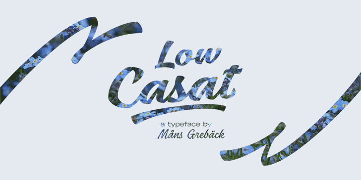 Download Low Casat Light font (typeface)